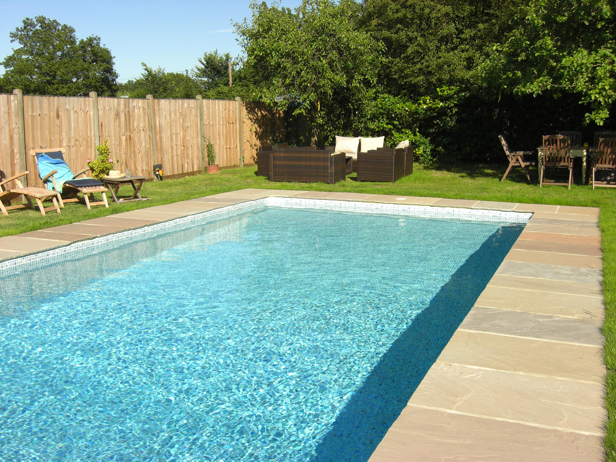 Pool liner installation ascot pools swimming pool for Pool installation