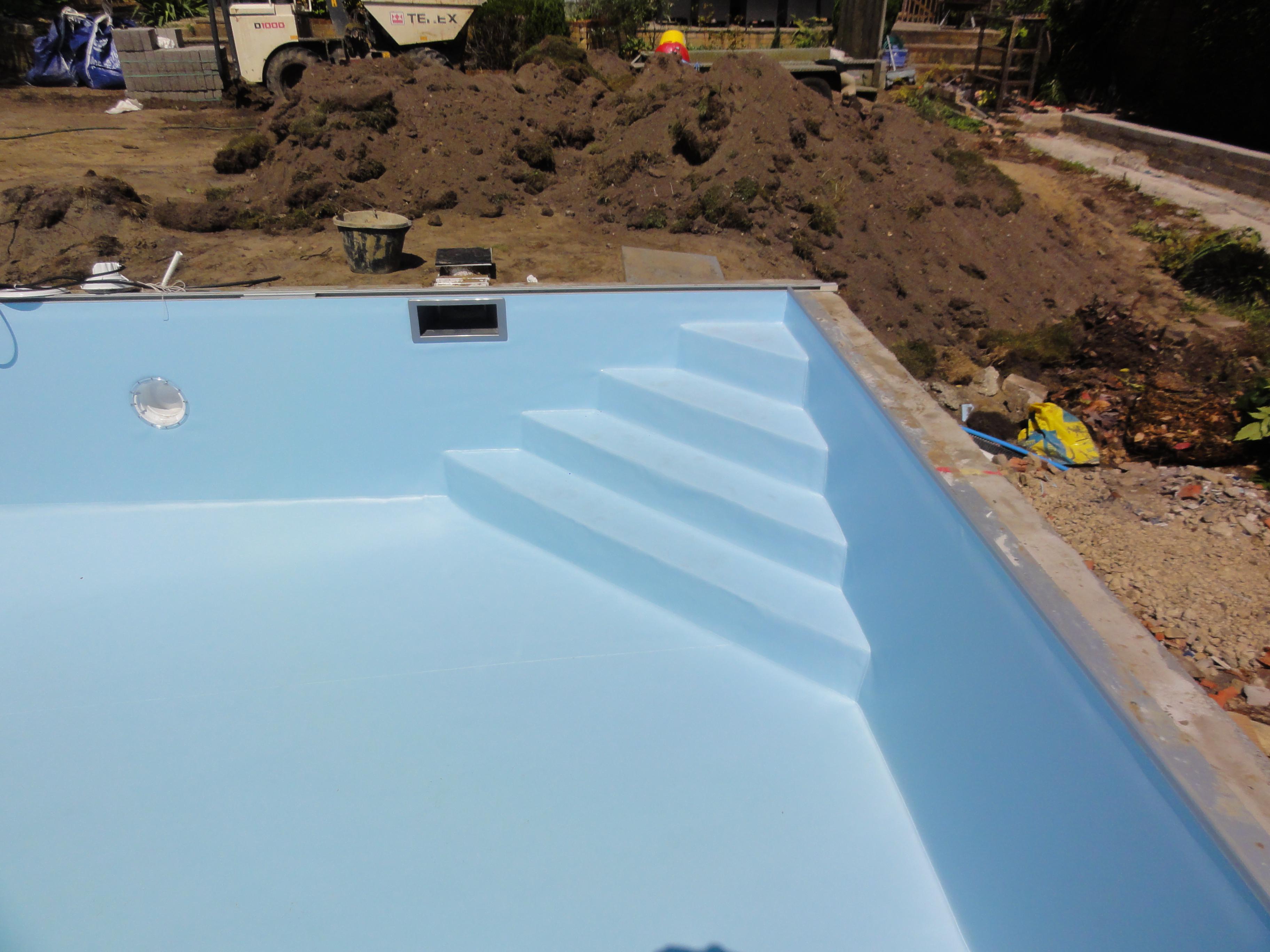 Pool Liner Installation Ascot Pools Swimming Pool Construction Berkshire Surrey