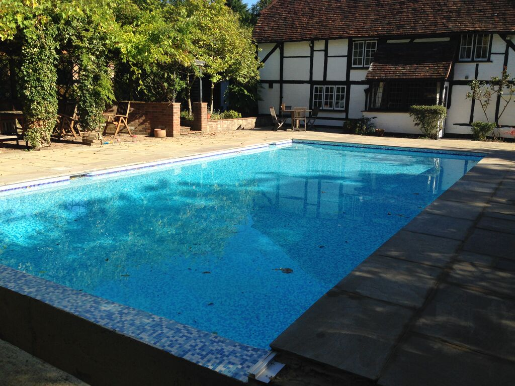 Repair And Renovation Of Old Concrete Pool Chobham