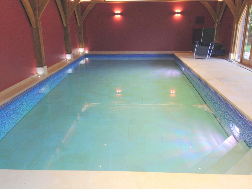 New Indoor Tiled Pool Windsor Berkshire Ascot Pools