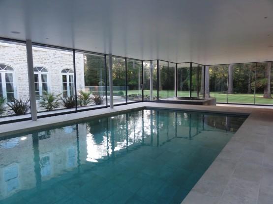 Full height glazing